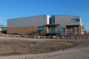 Kugluktuk Elementary School, which teaches kindergarten through sixth grade.